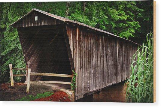 Bob White Bridge Wood Print