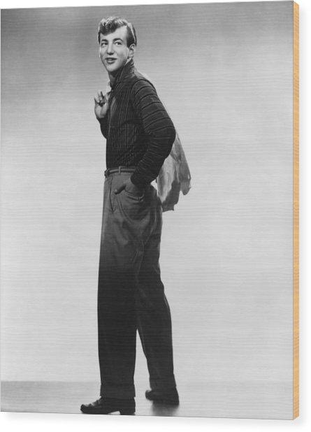 Bobby Darin, Ca. Mid-1950s Wood Print by Everett