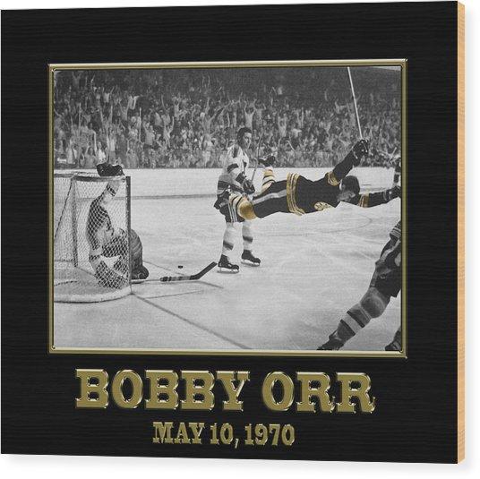 Bobby Orr 6 Wood Print