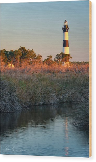 Bodie Island Light 2589 Wood Print