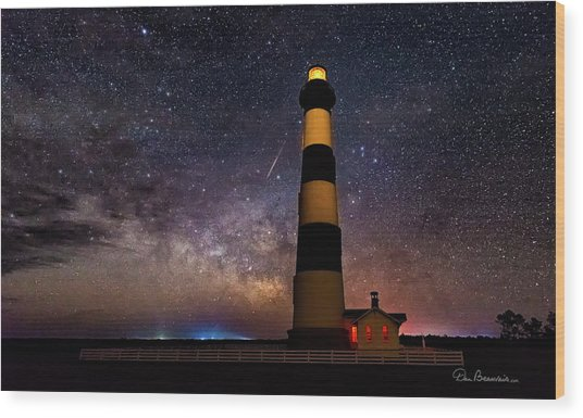 Bodie Light And Galactic Core 4994 Wood Print