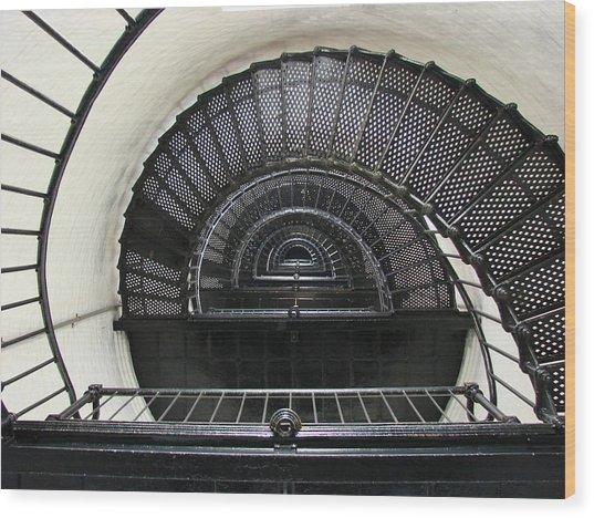 Bodie Lighthouse Nags Head Nc Iv Wood Print