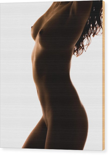 Bodyscape 185 Wood Print