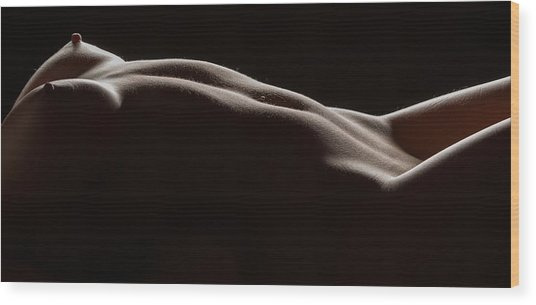 Bodyscape 254 Wood Print