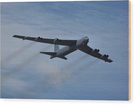 Boeing B-52h Stratofortress Wood Print
