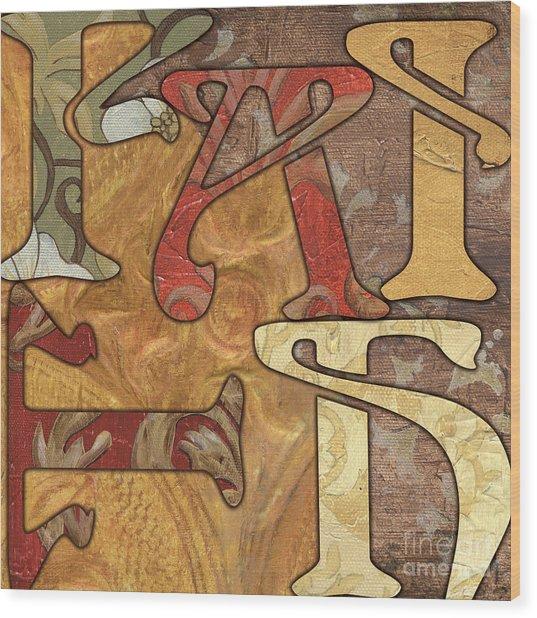 Bohemian Faith Wood Print