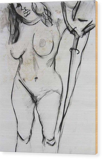 Bonnie Wood Print by Brad Wilson