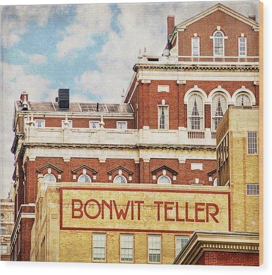 Bonwit Teller Wood Print