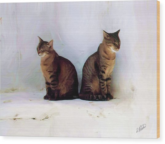 Bookends - Rdw250805 Wood Print