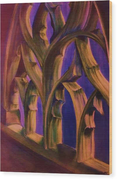 Boston Trinity Church Wood Print by Dana Redfern