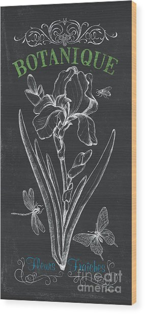 Botanique 1 Wood Print