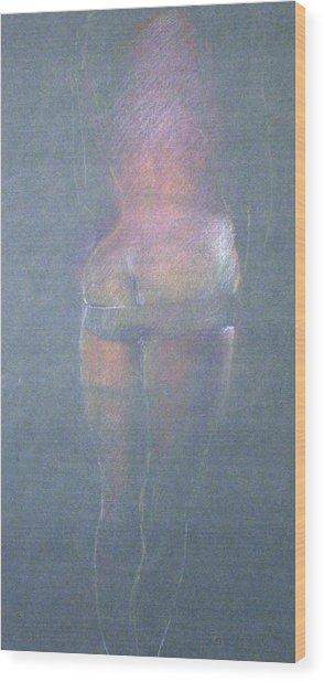 Bottom Wood Print by William Girven