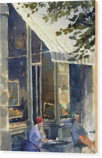 Boulangerie Du Monde, Cedarburg Wood Print