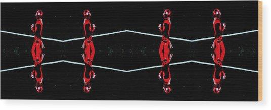 Boundaries Wood Print by Stephen Farley