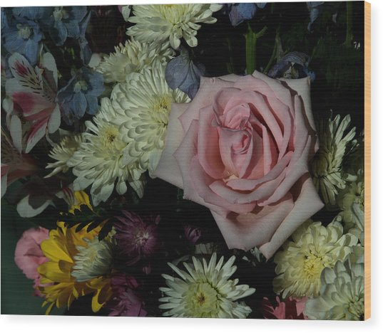 Bouquet For A Friend Wood Print