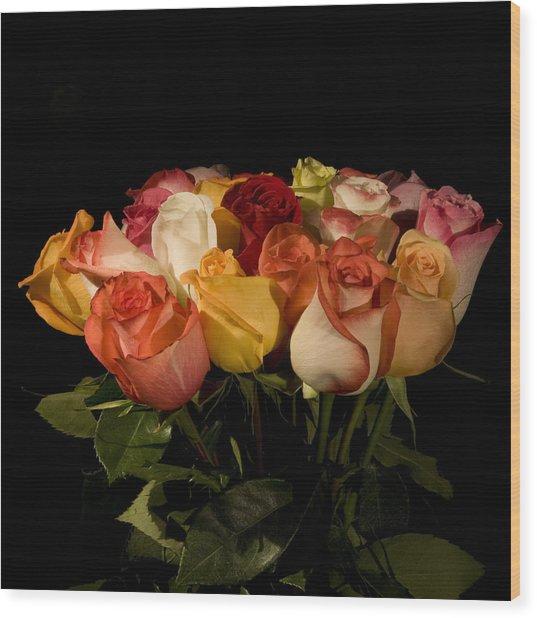 Bouquets Wood Print