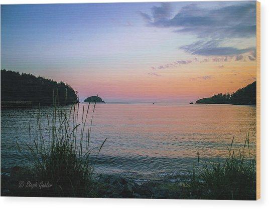 Bowman Bay Wood Print