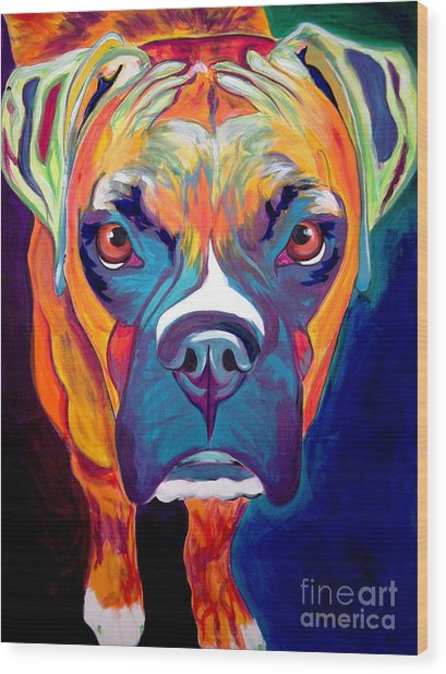 Boxer - Harley Wood Print