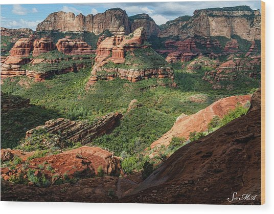 Boynton Canyon 05-942 Wood Print