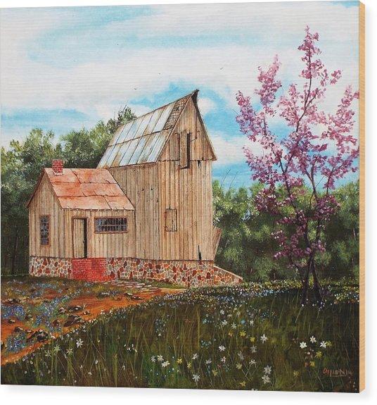 Bradford's Barn Wood Print