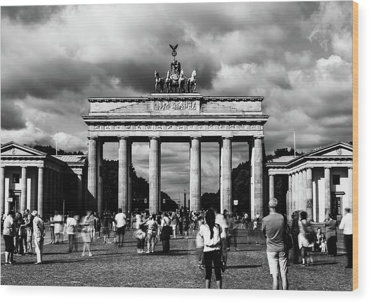 Brandenburg Gate Wood Print