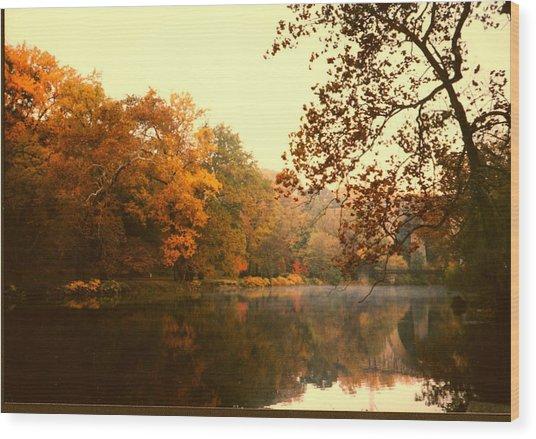 Brandywine Sunset Wood Print