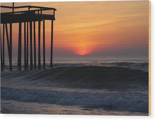 Breaking Sunrise Wood Print