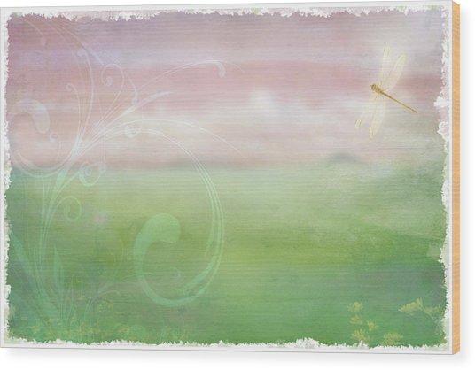 Breath Of Spring Wood Print