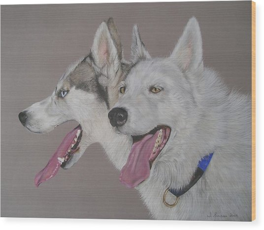 Breeze And Chile Wood Print by Joanne Simpson