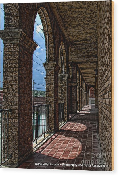 Breezway On The Baker Wood Print