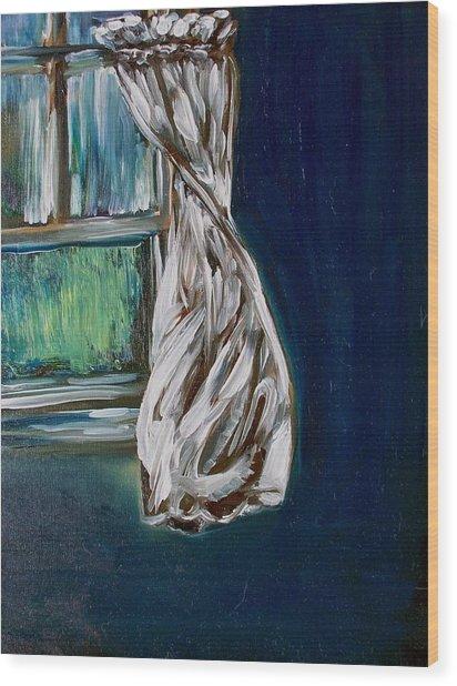 Breezy Dancer Wood Print by Sheila Tajima