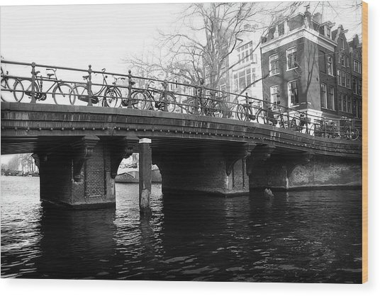 Wood Print featuring the photograph Bridge 5 by Scott Hovind