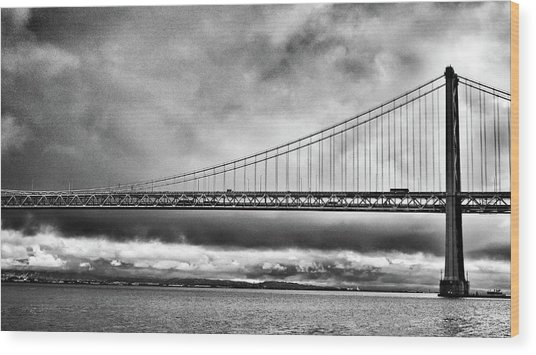 Wood Print featuring the photograph Bridge by Al Harden