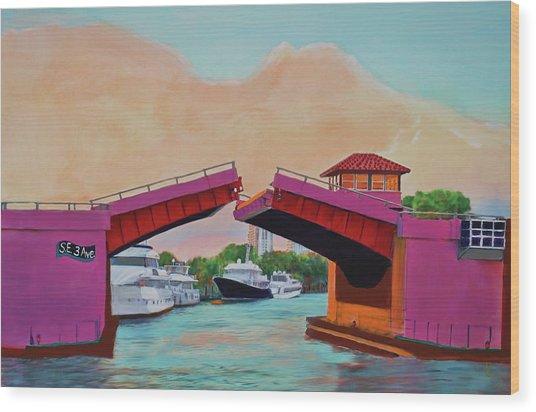 Bridge At Se 3rd Wood Print