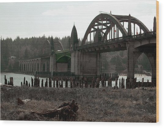 Bridge Deco Wood Print