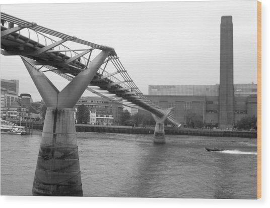 Bridge For You Wood Print by Jez C Self