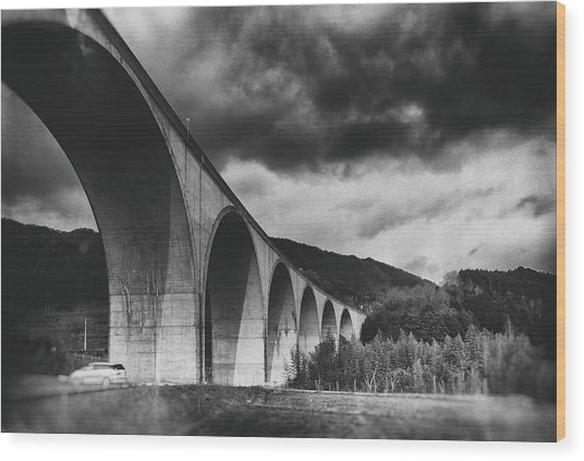 Bridge Wood Print