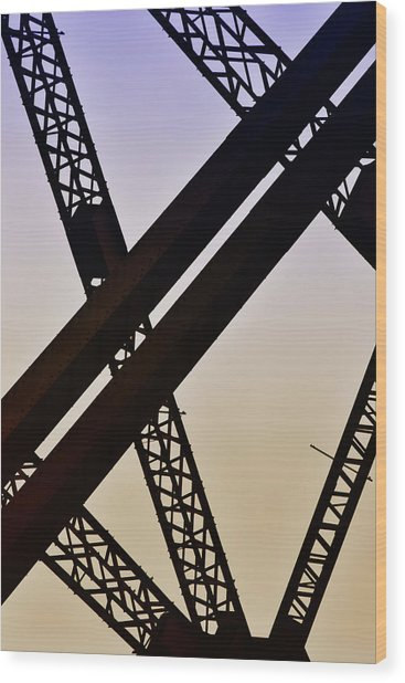 Bridge No. 1-1 Wood Print