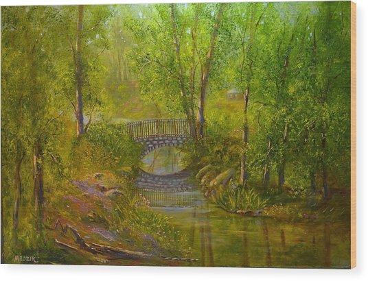 Bridge Of Delight Wood Print