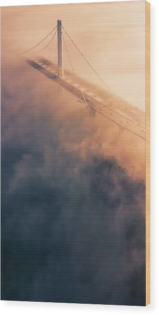 Bridge Of Dreams Wood Print by Vincent James