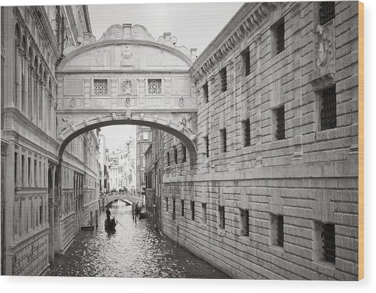 Bridge Of Sighs 5346-2 Wood Print