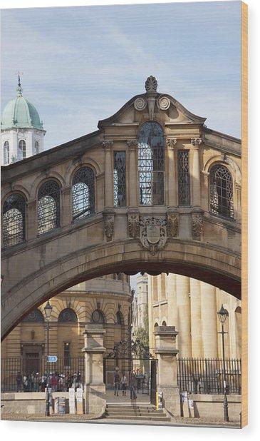 Bridge Of Sighs Oxford Wood Print