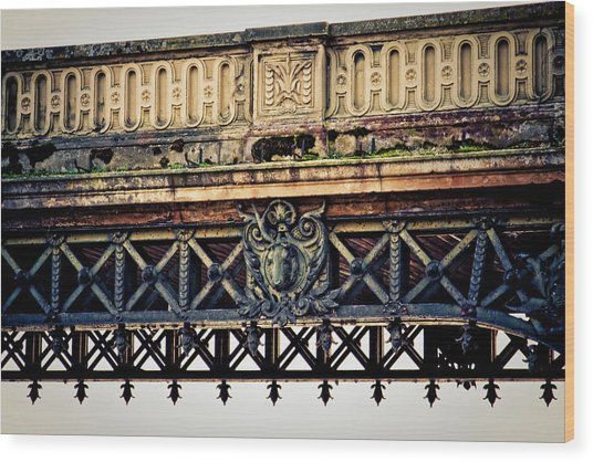 Bridge Ornaments In Germany Wood Print