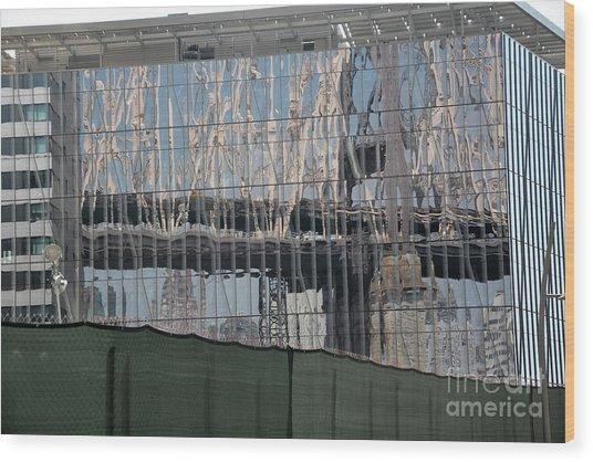 Bridge Reflections Wood Print by Andrea Simon