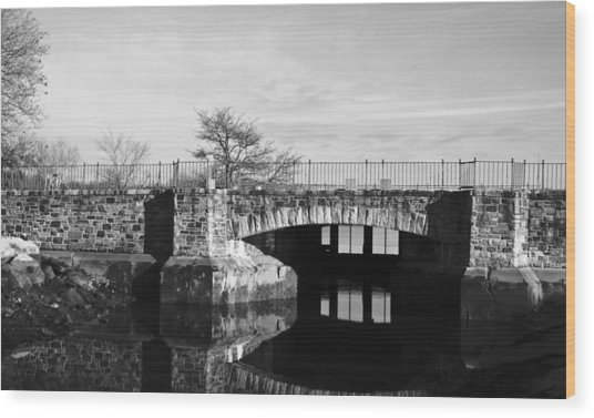 Bridge To Heaven Wood Print