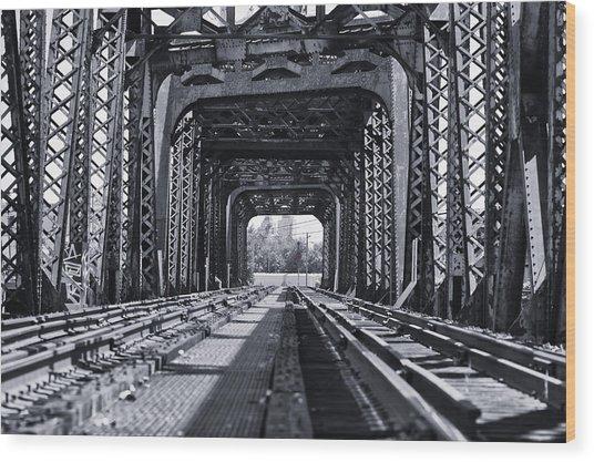 Bridge To No Where 2 Wood Print