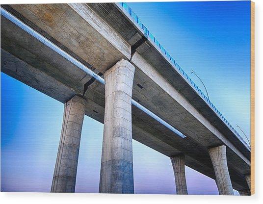 Bridge To The Heaven Wood Print