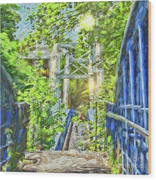 Bridge To Your Dreams Wood Print