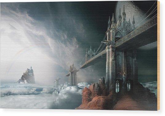 Bridges To The Neverland Wood Print