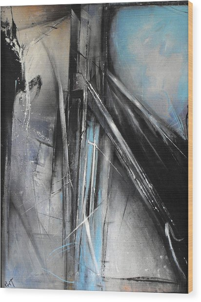 Bridges Two Wood Print by Ralph Levesque